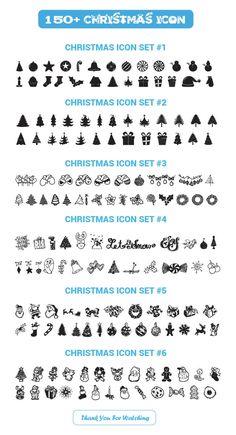 grafiker.de - 150+ kostenlose Vektor-Icons für Weihnachten