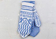 Imatran lapaset - Neulonta ja virkkaus - Suuri Käsityö Knit Mittens, Mitten Gloves, Fair Isle Knitting, How To Purl Knit, Knitting Stitches, Hand Warmers, Needlework, Knit Crochet, Socks