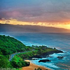 Clark Little Photography - Hawaii Sunset