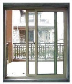 Hermoso barandal aluminio y crystal bella navidad - Puertas correderas bricomart ...