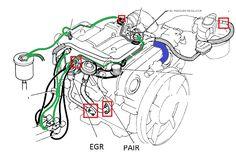 2003 bmw 3.0 engine vacuum diagram Google Search