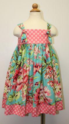 Easter dress for Miss Zoe