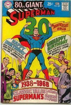 Superman comic cover