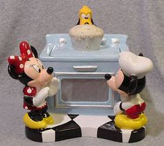 Mickey Mouse Cookie Jars