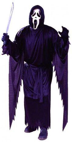 """Scream Kostüm mit Maske - Ghost Face der Serienkiller  aus dem Kinohit """"Scream"""" von Wes Craven schlägt wieder zu #karneval #carnival"""