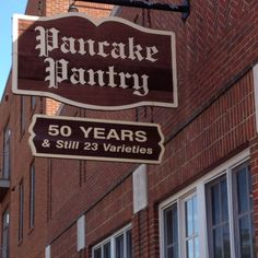 Pancake Pantry - Nashville, TN - was there and it is amazing. get there early, lines are LONG.