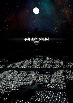 Galaxy ocean