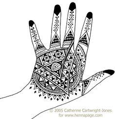 North African style Henna