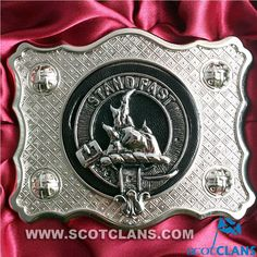 Grant Clan Crest Belt Buckle