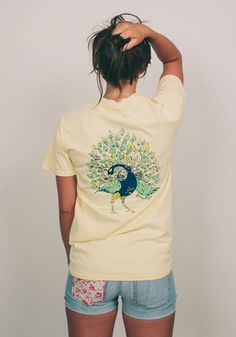 Geneologie Originals Fuss and Feathers  - Butter. really cute
