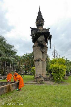 Buddha Park @ Laos