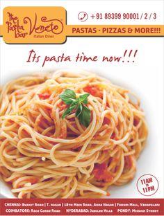 Delicious pasta @ The Pasta Bar