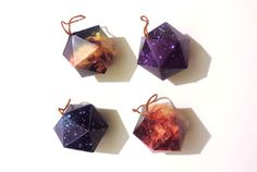 Galaxy Ornaments