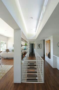 Best View From Living Area To Open Staircase And Kitchen Dining 640 x 480