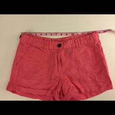 Shorts These shorts have a cotton linen feel. Great condition.  Offers welcome H&M Shorts