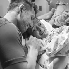 First Love  Love at First Sight Labor and Delivery Photography Tiffany Boone Photography