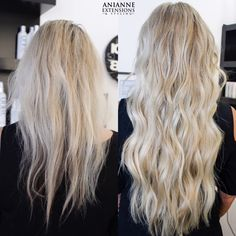 Blonde Hair Extensions Before And After, Long Hair Extensions, Hair Inspo, Hair Inspiration, Blonde Hair With Roots, Lion Mane, Natural Hair Styles, Long Hair Styles, Dream Hair
