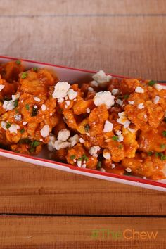 Need an easy appetizer idea for your next party? Try Clinton Kelly's Buffalo Fried Oysters! All it takes are oysters, buttermilk, cornmeal, flour, a pinch of cayenne, canola oil, hot sauce, crumbled blue cheese, chives and you're all set. Click for the full recipe!