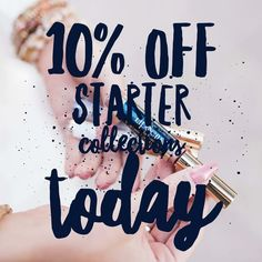 10% off starter collections