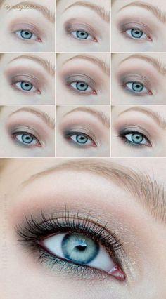 phenomenal makeup for blue-:) #beauty #makeup
