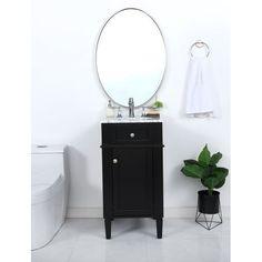Pearson Bathroom Vanity Set - Overstock - 32353600 - 24 Inch Black Vanity Bathroom, Types Of Cabinets, Porcelain Sink, Marble Countertops, Painting Cabinets, Vanity Set, Wood Colors, Cabinet Doors, White Marble