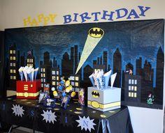 Gotham city ~ Batman Party