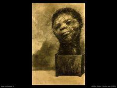 Odilon Redon, Cactus man, 1881,The Ian Woodner Family Collection,USA. (opera simbolista: Vedi sotto)