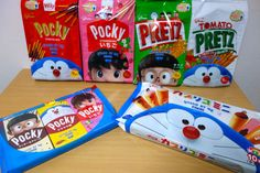 Glico Stand By Me Doraemon AR Packaging on Packaging of the World - Creative Package Design Gallery