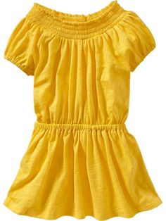 Smocked Jersey Dresses for Baby