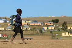 How many countries in Africa? How hard can the question be? A child walks to school in June 2013 in a village outside the town of Mthatha in South Africa's Eastern Cape province. Bad Education, Education System, Walk To School, School S, Schools Around The World, Around The Worlds, Professor, How Many Countries, Looking For People