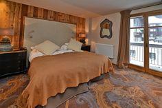 Hôtel les 5 Frères à Val d'Isère - France. Tissus Arpin. Crédit photos: JP.NOISILLIER / nuts.fr. Renseignements sur www.arpin1817.com