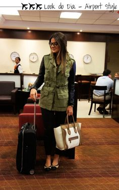 Thássia Naves Fall Winter Outfits, Autumn Winter Fashion, Winter Wear, Airplane Outfits, Parka Style, Travel Clothes Women, Airport Style, Look Chic, Work Fashion