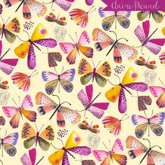 Butterflies by Claire Picard www.clairepicarddesign.com