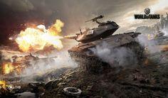 World of Tanks backgrounds images - World of Tanks category Best Wallpaper Sites, World Of Tanks Game, Planes, Tank Wallpaper, Wallpaper Art, Tank Warfare, War Thunder, Fotografia