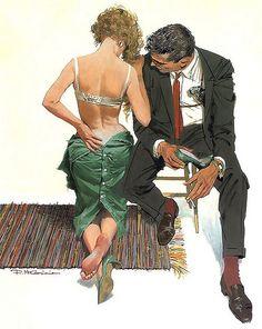 ... Robert McGinnis | #紳士 #淑女