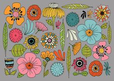 Wildflowers No. 2, Courtesy Lisa Congdon