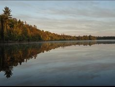 Brocket Lake, Lake of the Woods, Laketrails, morning paddle