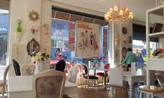 Dining Area at Where a Girl Goes (Melbourne, VIC). #hightea #restuarants