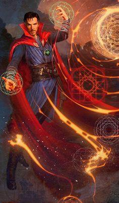 Doctor Strange - https://elficcionista.tumblr.com/post/171651151887/doctor-strange