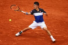 Kei Nishikori Photos - 2015 French Open - Day Eight - Zimbio