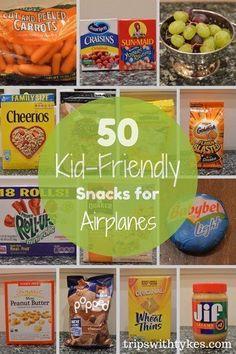 50 Kid-Friendly Airplane Snacks Airplane Snacks, Airplane Travel, Travel Plane, Flying With Kids, Travel Snacks, Food Travel, Travel Stuff, Travel Usa, Another A