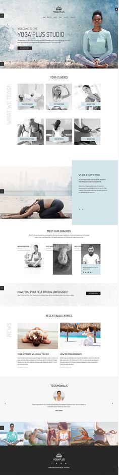 Yoga Plus Studio #Joomla #template. #themes #business #responsive #Joomlathemes