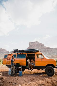 What's it like to live on the road as a newly married couple? Brianna and Keith opted for the #vanlife after they got married and realized they rarely used their one-bedroom apartment for anything besides storage. Learn their story on domino.com.