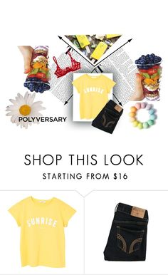 """""""pdp"""" by mariana2702 on Polyvore featuring moda, MANGO y Hollister Co."""