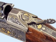 Cool engraved weapons