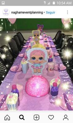 Bildergebnis für lol surprise photo booth para imprimir - 2008 for kids -heya- Birthday Table, 6th Birthday Parties, Birthday Bash, Girl Birthday, Surprise Birthday, Birthday Ideas, Doll Party, Unicorn Party, Princess Party