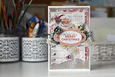 By Ekaterina_Ko: Новогодняя открытка/Merry Christmas card