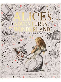 Alice's Adventures in Wonderland Coloring Book at PLASTICLAND