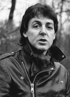 Because heavy eyelids. | 20 Pictures Celebrating Paul McCartney's Eternal Crushworthiness