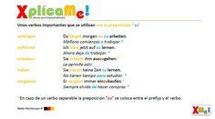 """Lección #43 """"El infinitivo con la preposición zu"""" ... www.facebook.com/xplicame"""